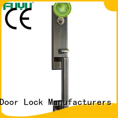 FUYU quality zinc alloy door lock factory on sale for indoor