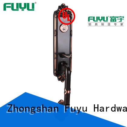 FUYU brass entry door locksets locks for wooden door