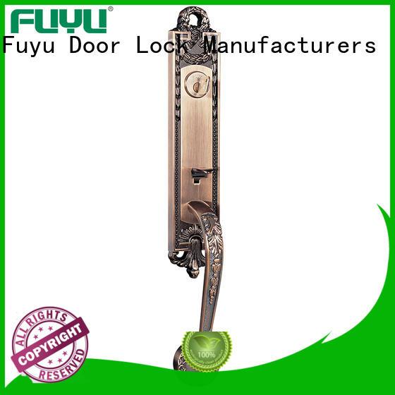 FUYU entry door locks supplier for mall