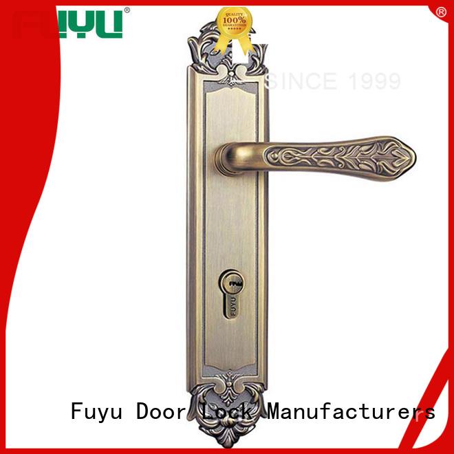 FUYU handle gate door lock meet your demands for entry door