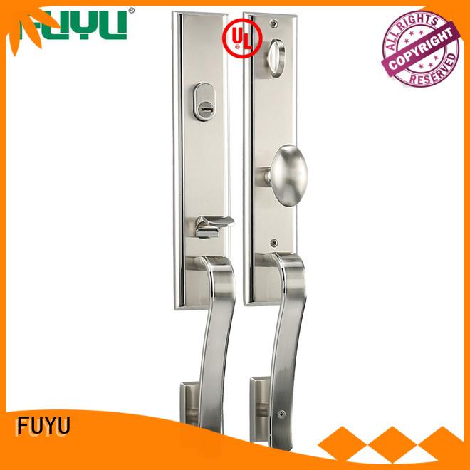 FUYU quality handle door lock manufacturer for wooden door