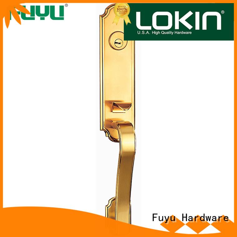 FUYU alloy american door lock alloy for residential