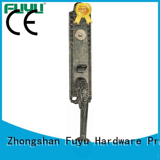FUYU cycle simple door lock on sale for shop