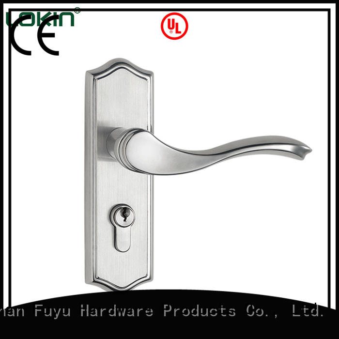 FUYU mortise door handle extremely security for shop