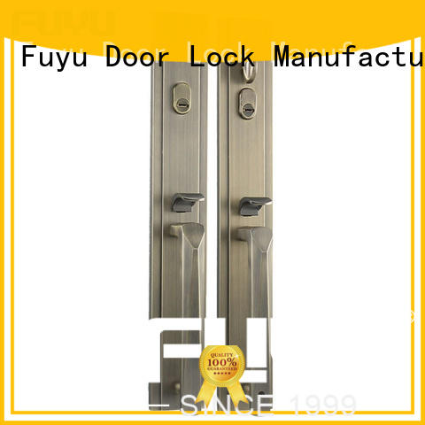 FUYU kits zinc alloy mortise door lock on sale for mall