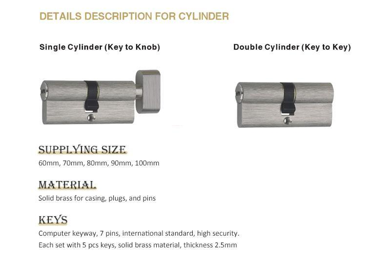 FUYU quality best lock for door with latch for entry door-3