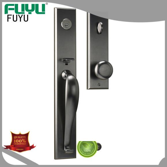 FUYU high security zinc alloy door lock for timber door on sale for shop