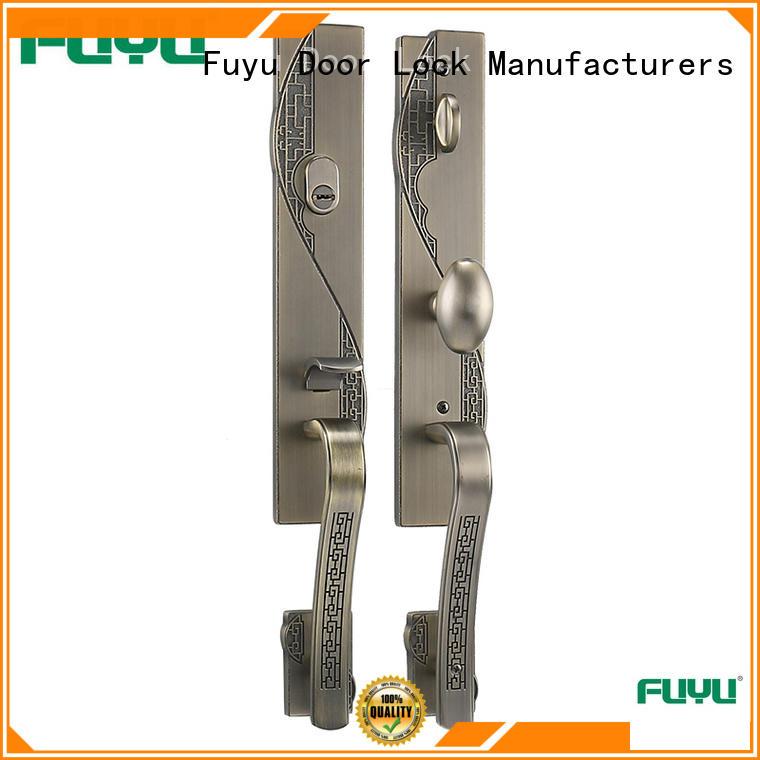 FUYU durable anti-theft zinc alloy door lock meet your demands for mall