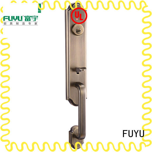 big security door locks with latch for residential FUYU