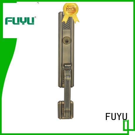 quality zinc alloy door lock for wooden door entrance with latch for shop