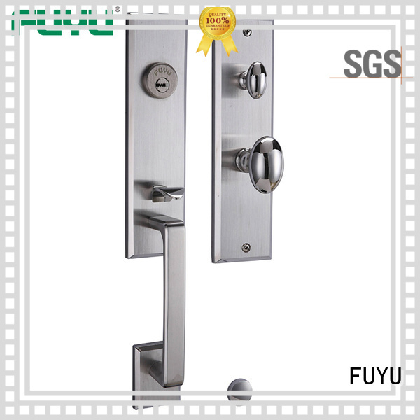 FUYU online stainless steel security door lock on sale for mall