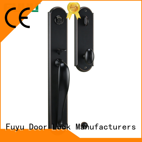 FUYU entry door locks manufacturer for entry door