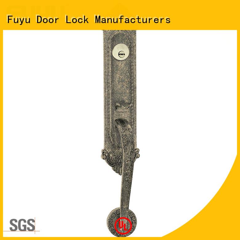 FUYU door zinc alloy door lock for timber door meet your demands for mall