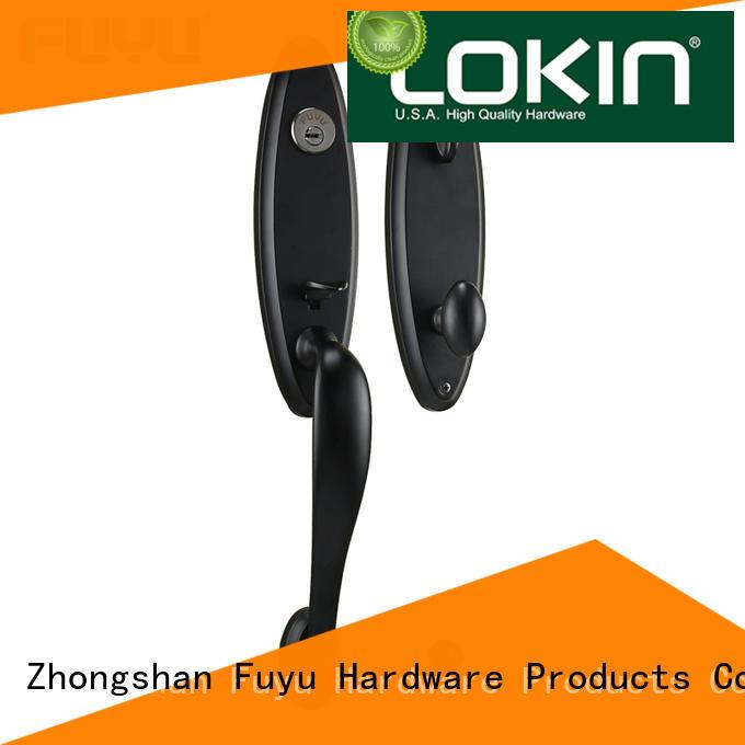 FUYU zinc door handle lock meet your demands for mall
