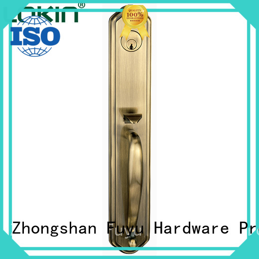 bathroom door handle with lock main for shop FUYU