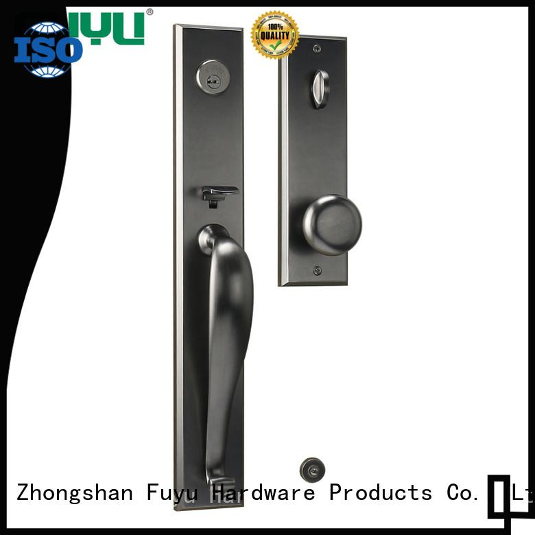 FUYU durable zinc alloy door lock for metal door mortise for shop
