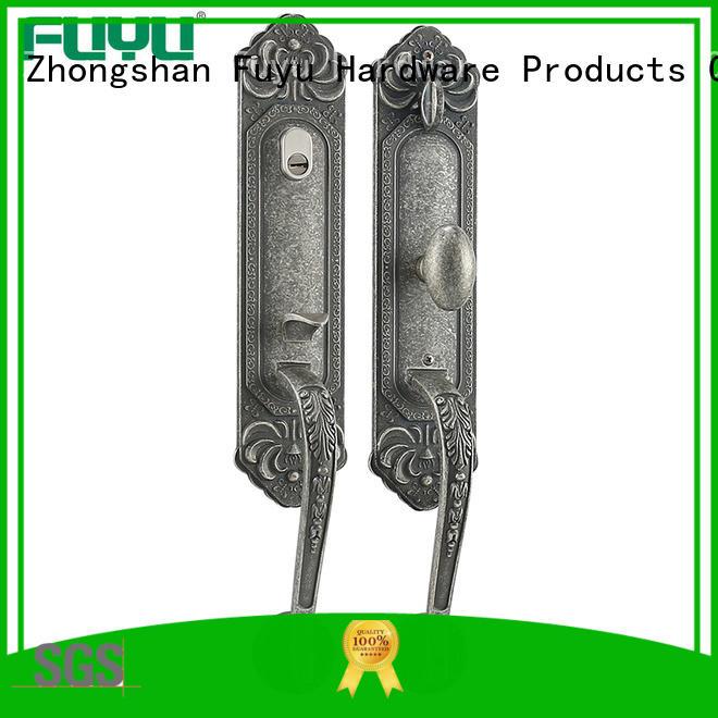 FUYU online zinc alloy grip handle door lock meet your demands for indoor