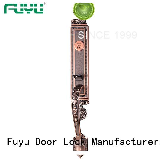 durable zinc alloy handle door lock install on sale for indoor