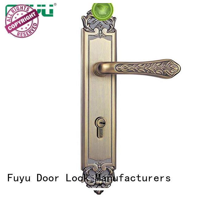 high security zinc alloy door lock for timber door profile with latch for entry door