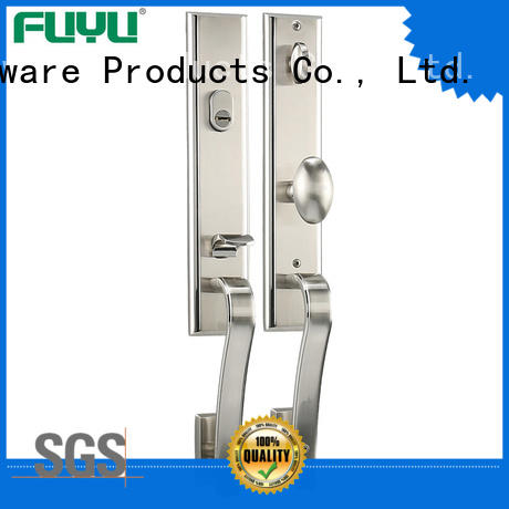 FUYU custom zinc alloy door lock for timber door meet your demands for mall