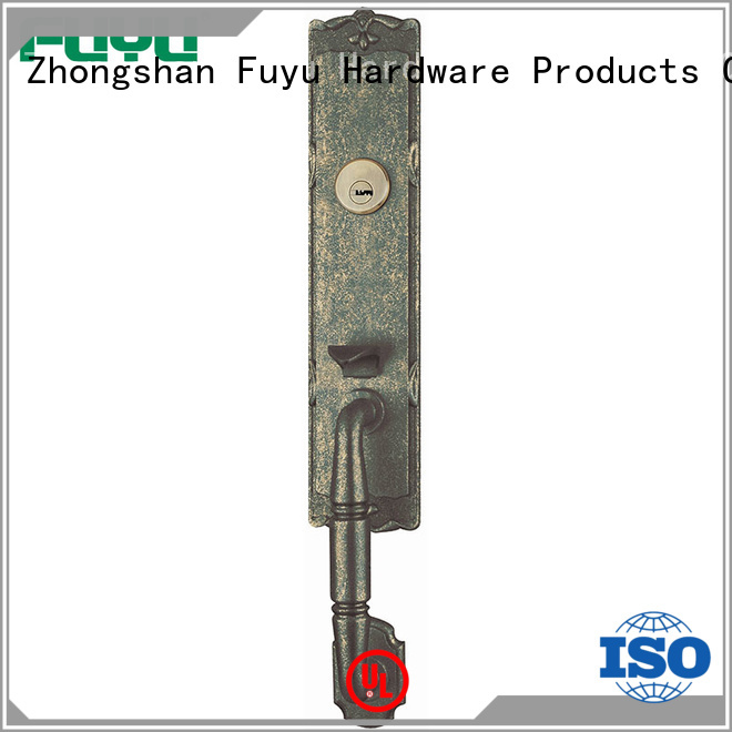 FUYU high security handle door lock supplier for shop