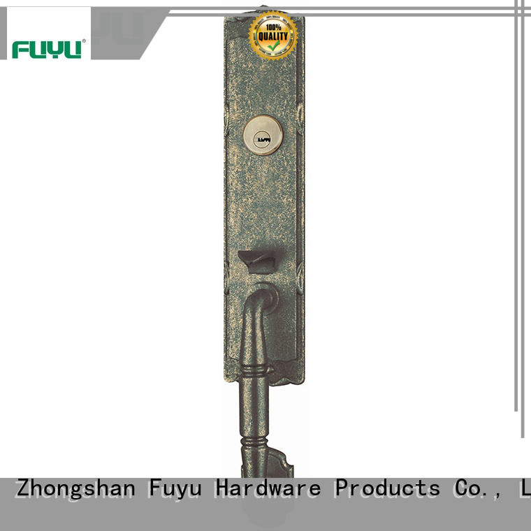 FUYU high security zinc alloy door lock for wood door on sale for indoor