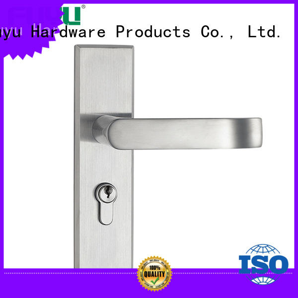 FUYU online stainless steel sliding door lock extremely security for residential