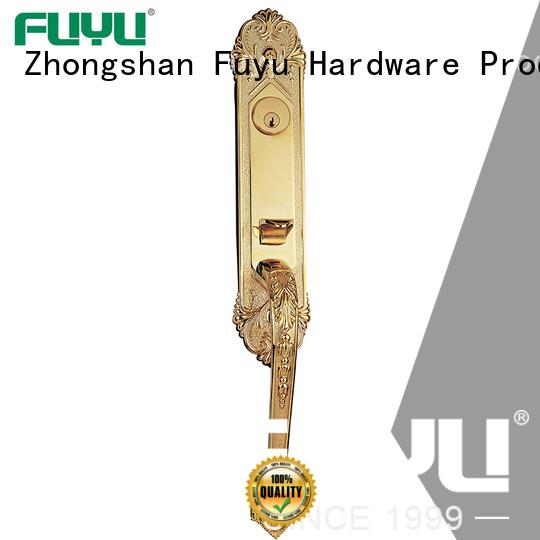 FUYU best handle door lock manufacturer for wooden door