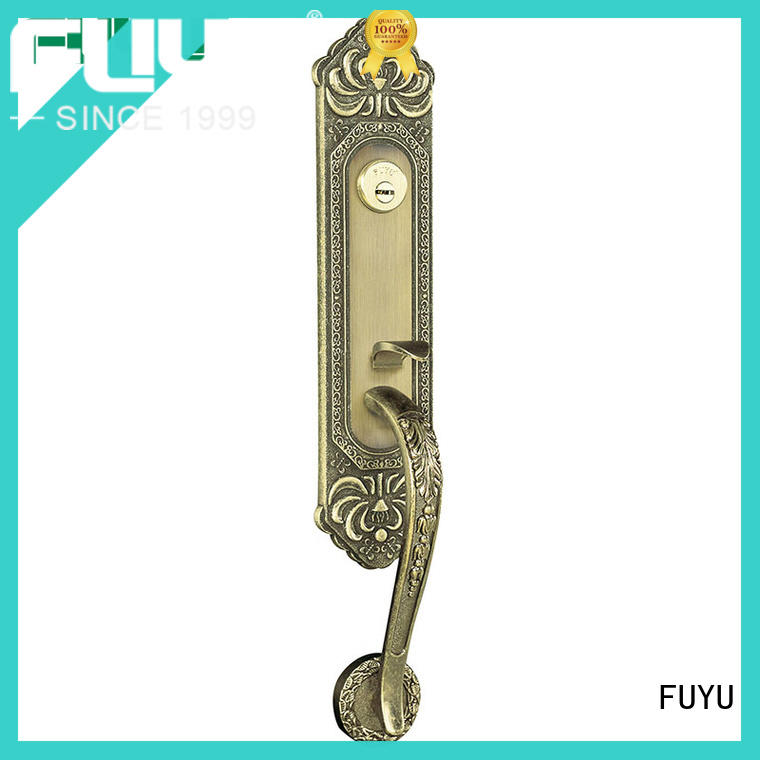 FUYU double american style zinc alloy door lock selling home