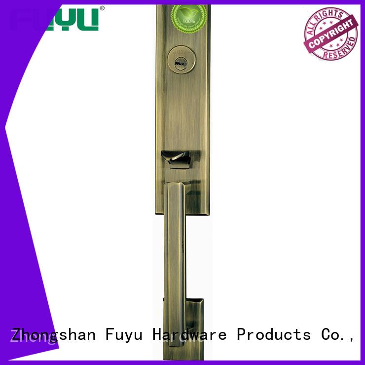 look zinc alloy door lock for wood door on sale for shop FUYU