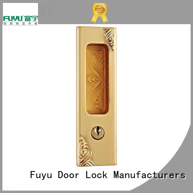 FUYU cycle zinc alloy door lock on sale for entry door