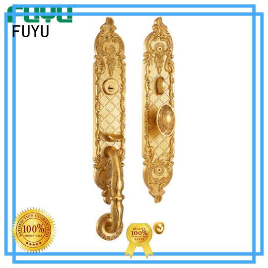 FUYU online mortise lock brass lock for mall