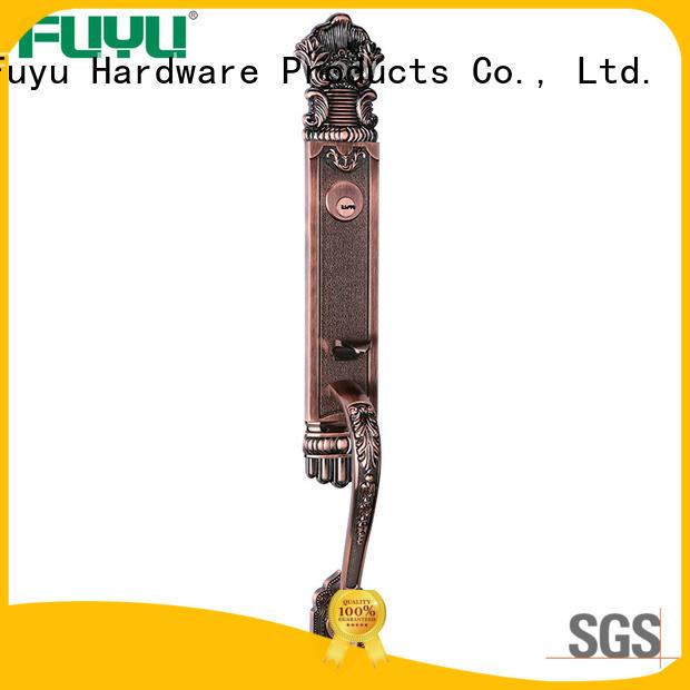 FUYU big zinc alloy door lock for wood door meet your demands for entry door