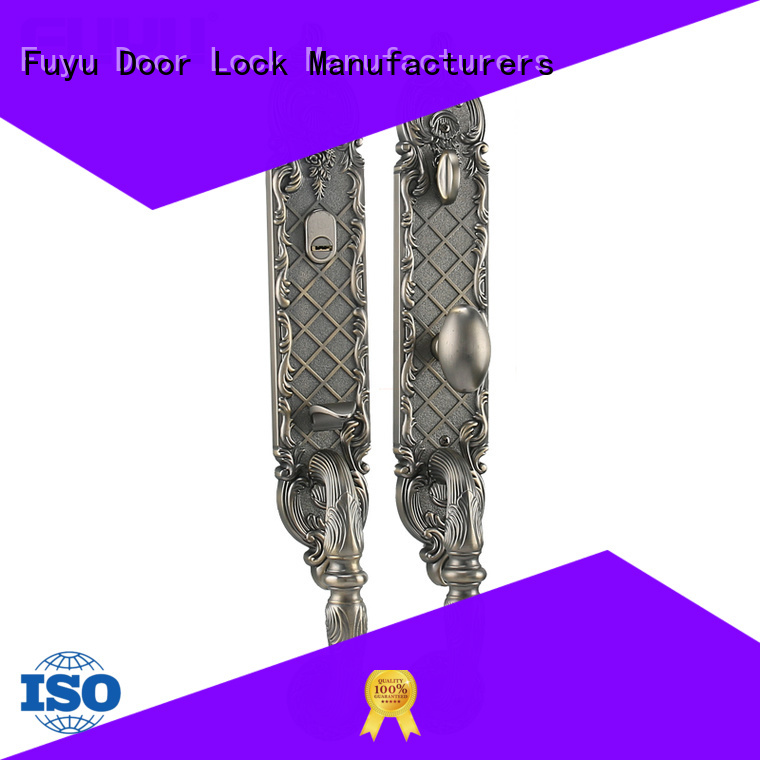 FUYU custom best lock for door with latch for mall