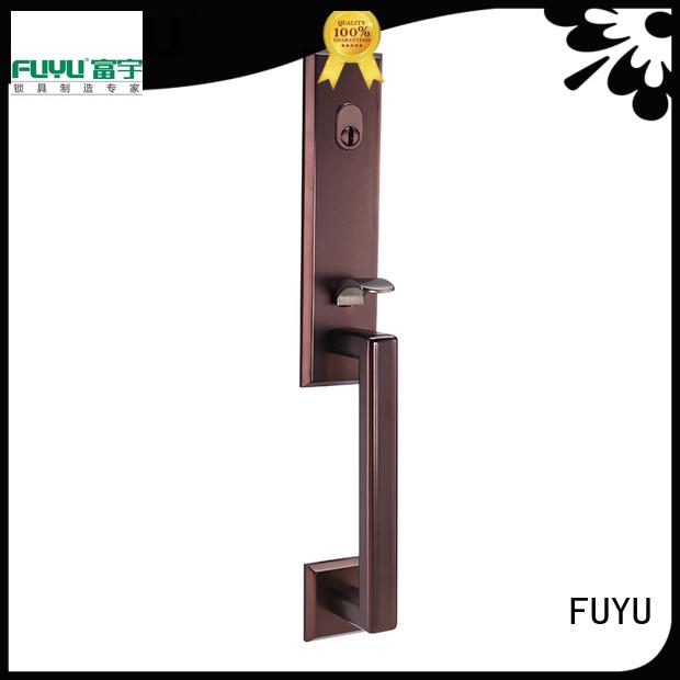 FUYU grip handle door lock manufacturer for shop