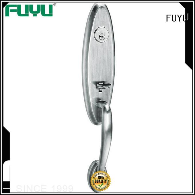FUYU handle door lock for sale for shop