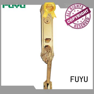 Zinc alloy anti-theft tubular door handle lock with key