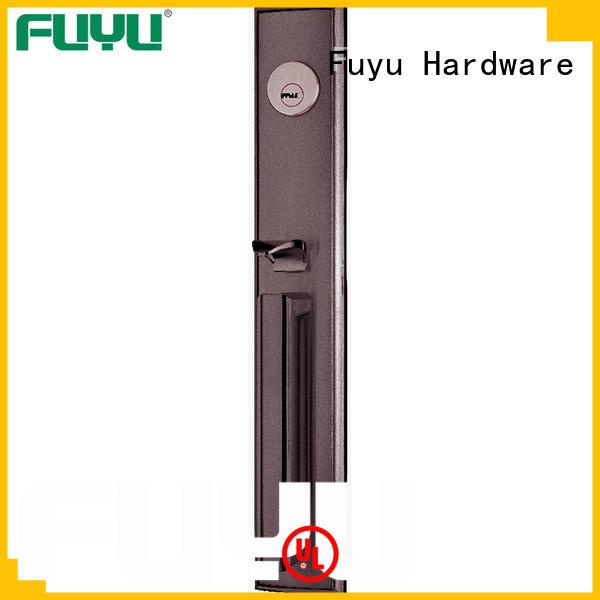 kits bathroom door handle with lock design for mall FUYU