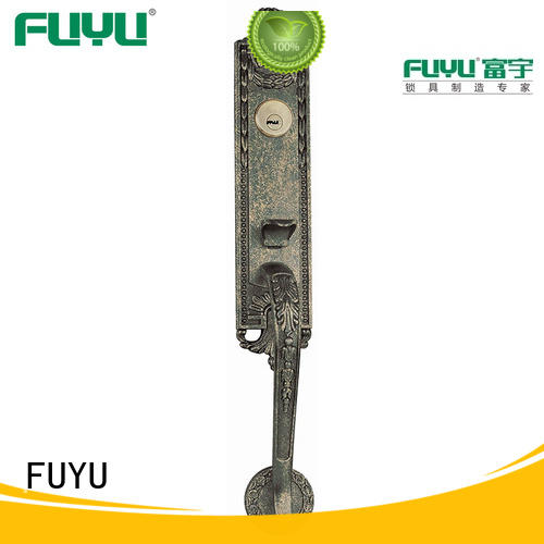 FUYU quality lock manufacturing with latch for entry door