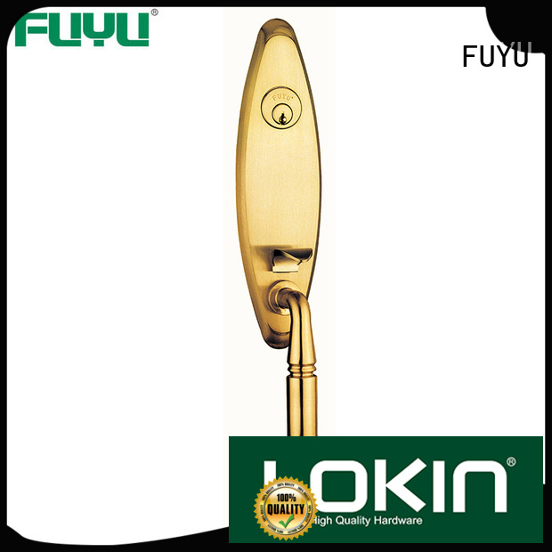 FUYU quality simple door lock with latch for mall