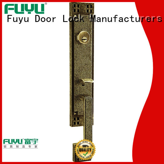 FUYU key zinc alloy door lock factory meet your demands for shop