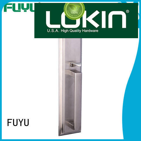 FUYU security stainless steel security door lock extremely security for shop