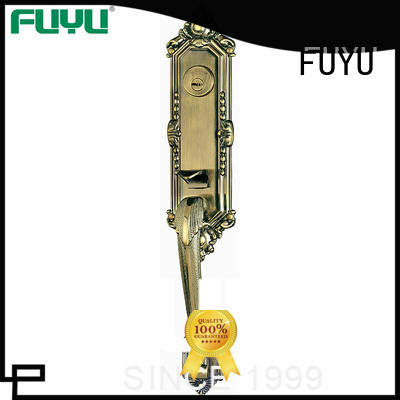 FUYU handle door lock manufacturer for entry door