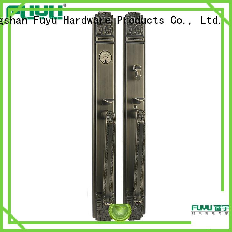 FUYU best handle door lock manufacturer for shop