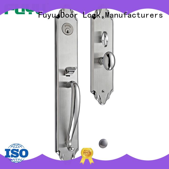 FUYU dubai wholesale stainless steel door lock on sale for shop