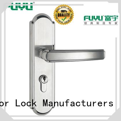 FUYU ss modern door locks with international standard for mall