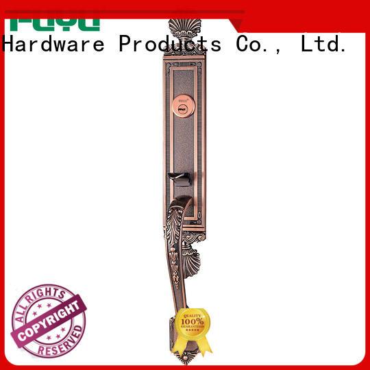 FUYU metal mortise lock set door hardware meet your demands for residential