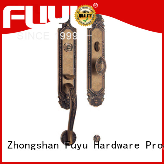 FUYU lock manufacturing with international standard for entry door