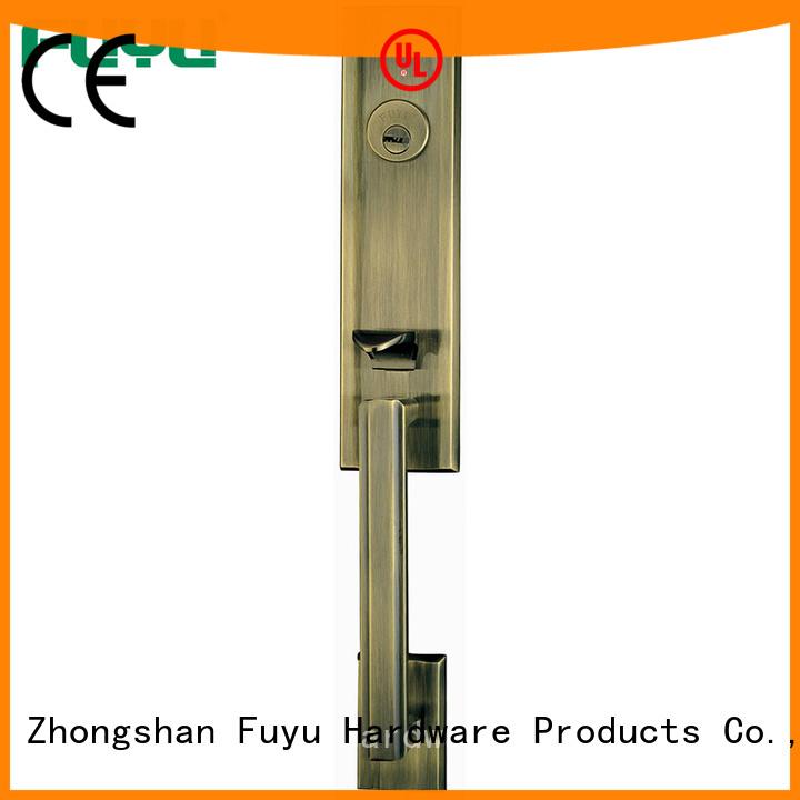 custom zinc alloy grip handle door lock security on sale for indoor