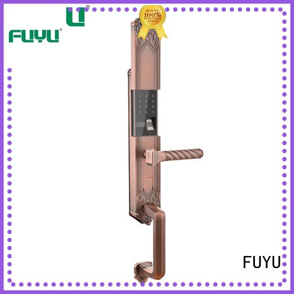 FUYU online fingerprint front door supplier